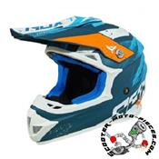 CASQUE CROSS ADX MX2 BLEU MAT
