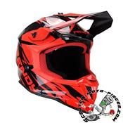 CASQUE CROSS TRENDY 20 T-903 LEAPER NOIR/ROUGE