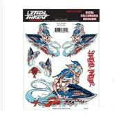 Sticker Jet Ski Bleu