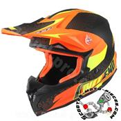 CASQUE CROSS NOEND DEFCON TX696 ORANGE