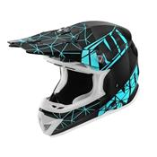 Casque Cross NoEnd Origami Light Blue
