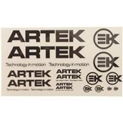 Planche Sticker Artek Noir/Transparent