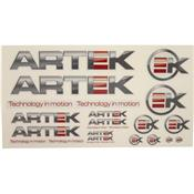 Planche Sticker Artek Gris/Transparent