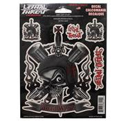 Sticker Skull Dragger Piston