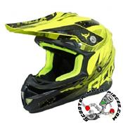 CASQUE CROSS ADX MX2 JAUNE FLUO BRILLANT