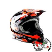 CASQUE CROSS TRENDY 20 T-902 MACH1 NOIR/ROUGE
