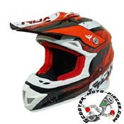 CASQUE CROSS ADX MX2 ROUGE BRILLANT